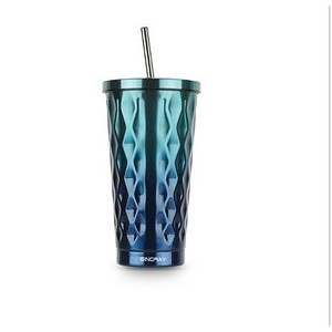 18/8 Stainless steel straw cup